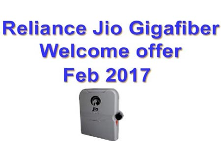 Reliance Jio new offer 2017