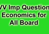 अर्थशास्त्र Economics Very Important Notes